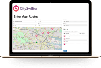 Dynamic Bus Routing Engine - Web Android iOS
